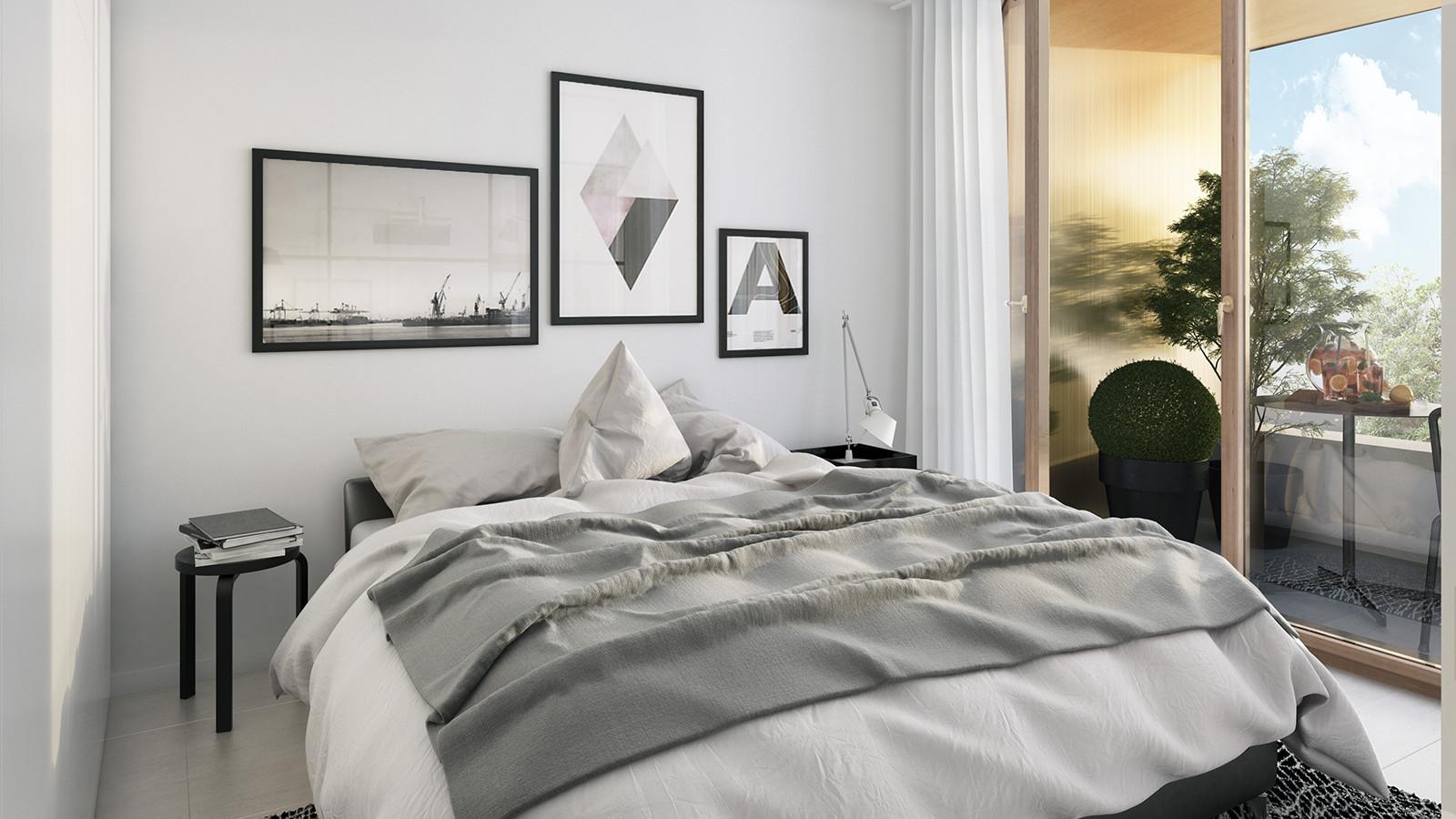 Grandes Perspectives Dans Petits Espaces: Appartements Avec Une Chambre.